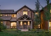 Front Exterior - Four Pines 77 - Teton Village, WY - Luxury Villa Rental