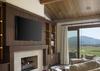 Master Bedroom Media - Last Chance Ranch - Jackson Hole, Wyoming - Luxury Villa Rental