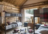 Guest Bedroom 1 - Mountain View - Wilson, WY - Luxury Villa Rental