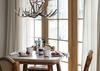 Breakfast Table - Mountain View - Wilson, WY - Luxury Villa Rental