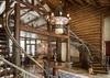 Stairs to Upper Level - Phillips Ridge - Jackson, WY - Luxury Villa Rental