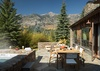 Patio - Shooting Star Cabin 11 - Teton Village, WY - Luxury Villa Rental