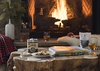 Fireplace - The Nest - Jackson, WY - Luxury Villa Rental