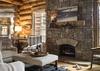 Living Room - Mountain View - Wilson, WY - Luxury Villa Rental
