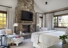 Master Bedroom - Shooting Star Cabin 11 - Teton Village, WY - Luxury Villa Rental