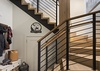 Stairs to Main Level - The Nest - Jackson, WY - Luxury Villa Rental
