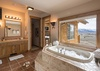Master Bathroom - Mountain View - Wilson, WY - Luxury Villa Rental