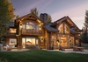 Back Exterior - Mountain View - Wilson, WY - Luxury Villa Rental