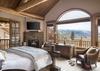 Master Bedroom - Mountain View - Wilson, WY - Luxury Villa Rental