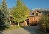 Front Exterior - Shooting Star Cabin 11 - Teton Village, WY - Luxury Villa Rental