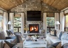 Great Room - Shooting Star Cabin 11 - Teton Village, WY - Luxury Villa Rental