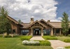 Front Entry - Last Chance Ranch - Jackson Hole, Wyoming - Luxury Villa Rental