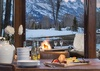Deck Teton View - Golf & Tennis Cabin 15 - Jackson Hole, WY - Luxury Villa Rental