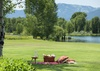Lawn - Grizzly Wulff Lodge - Jackson Hole Private Luxury Villa Rental
