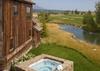 Hot Tub - Shooting Star Cabin 06 - Teton Village Luxury Villa Rental