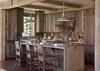 Kitchen - Fish Creek Lodge 02 - Teton Village Luxury Cabin Rental