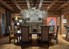 Dining - Royal Wulff Lodge - Jackson Hole Private Luxury Villa Rental
