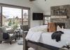 Upper Master Bedroom - Four Pines 102 - Teton Village Luxury Villa Rental