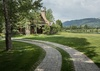 Driveway - Grizzly Wulff Lodge - Jackson Hole Private Luxury Villa Rental