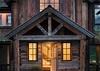 Front Entry - Four Pines 12 - Teton Village Luxury Villa Rental