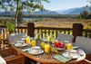 Outdoor Dining - Riversong Lodge - Wilson WY Luxury Villa Rental