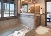 Master Bathroom - Golf & Tennis Cabin 15 - Jackson Hole, WY - Luxury Villa Rental