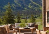 Patio - Shooting Star Cabin 01 - Teton Village, WY - Luxury Villa Rental