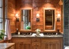 Guest Bedroom 2 Bathroom - Grizzly Wulff Lodge - Jackson Hole Private Luxury Villa Rental
