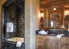 Guest Bedroom 1 Bathroom - Grizzly Wulff Lodge - Jackson Hole Private Luxury Villa Rental