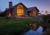 Back Exterior - Fish Creek Lodge 02 - Teton Village Luxury Cabin Rental