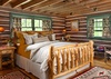 Guest Bedroom 2 - The Cabin - Jackson Hole Luxury Cabin Rental