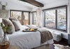 Master Bed - Pearl at Jackson 302 - Jackson Hole Luxury Villa Rental