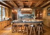 Kitchen - Royal Wulff Lodge - Jackson Hole Private Luxury Villa Rental
