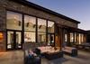 Patio - Cirque View Homestead - Teton Village, WY - Luxury Villa Rental