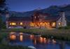 Back Exterior - Shooting Star Cabin 03 - Teton Village Luxury Villa Rental