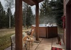 Hot Tub - Moose Creek 35 - Slopeside Cabin in Teton Village, WY - Luxury Villa Rental