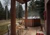 Hot Tub - Moose Creek 35 - Slopeside Cabin in Teton Village - Luxury Villa Rental