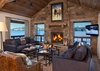 Great Room - Shooting Star Cabin 04 - Teton Village, WY - Luxury Villa Rental