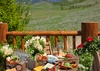 Outdoor Dining - Home on the Range - Jackson Hole, WY - Luxury Villa Rental