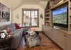 Media Room - Fish Creek Lodge 02 - Teton Village Luxury Cabin Rental