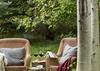 Back Patio - Holly Haus - Teton Village, WY - Luxury Villa Rental