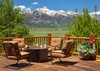 Deck - Home on the Range - Jackson Hole, WY - Luxury Villa Rental