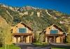 Front Exterior - Fish Creek Lodge 02 - Teton Village, WY - Luxury Cabin Rental