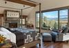 Master Bedroom - Fish Creek Lodge 02 - Teton Village Luxury Cabin Rental