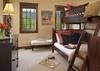Bunk Room - Shooting Star Cabin 06 - Teton Village Luxury Villa Rental