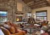 Great Room - Shooting Star Cabin 08 - Teton Village, WY - Luxury Villa Rental