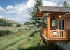 Dining Room Balcony - Two Elk Lodge  - Jackson Hole, WY - Luxury Villa Rental