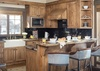 Kitchen - Golf & Tennis Cabin 15 - Jackson Hole, WY - Luxury Villa Rental