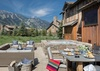 Patio - Four Pines 14 - Teton Village - Luxury Cabin Rental