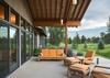 West Facing Patio - Aspenglow - Jackson Hole, WY - Luxury Villa Rental
